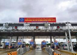 electronic-toll-collection-system-launched-on-hanoi-hai-phong-expressway